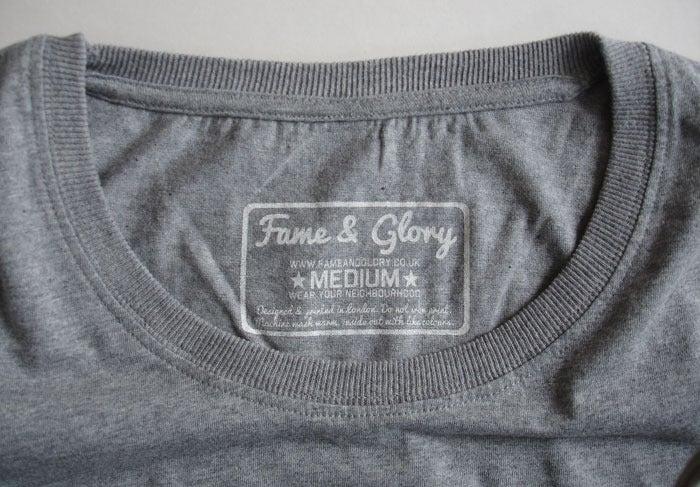Image of Hackney Braves Vintage Slim-fit Tee (Grey)