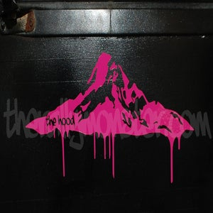 Image of The Hood Sticker