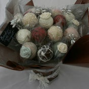 Image of Vintage Lace Cake Pop Bouquet