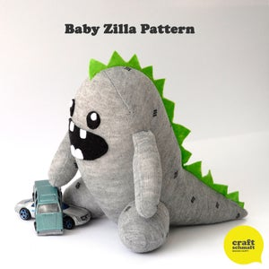 Image of Baby Zilla e-Pattern