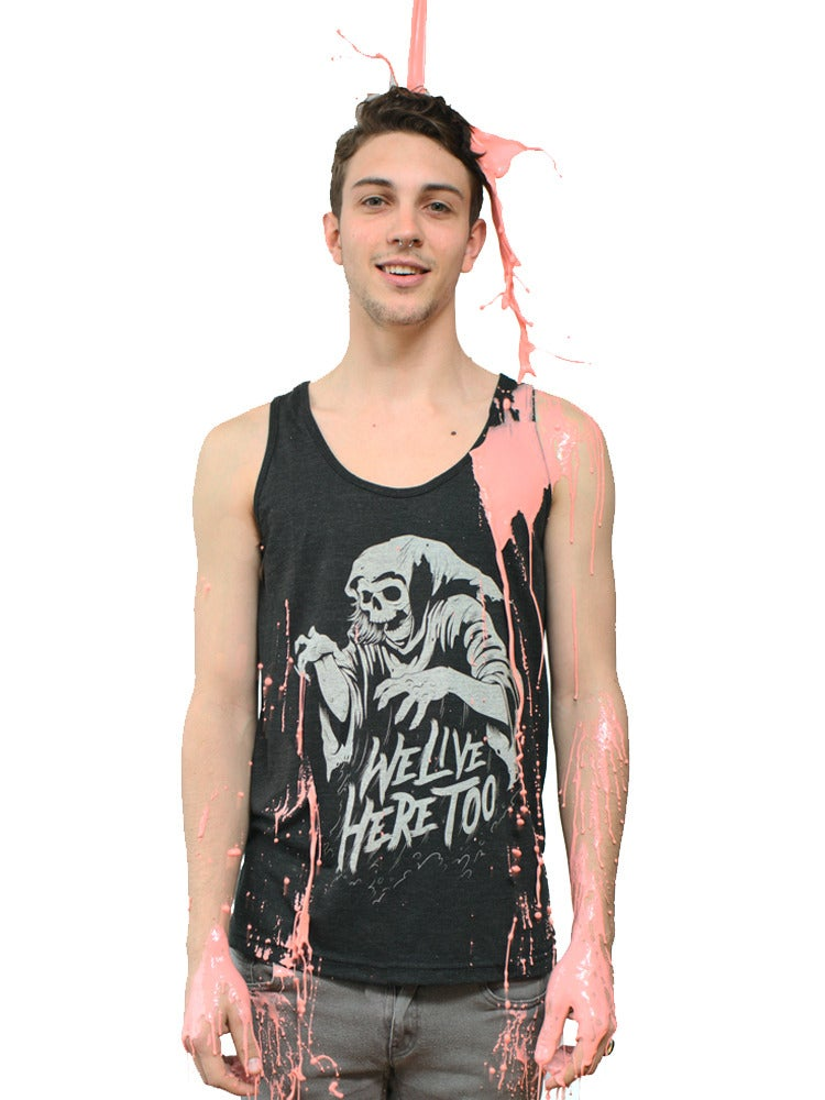 Image of Go Go Ghoul Tri Blend Tank