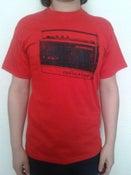 Image of RADIO SLAPS T-SHIRT  RED WOMEN/MEN