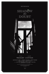 Image of Mondo Hitchcock's Shadow Of A Doubt poster