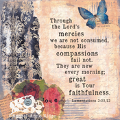 Image of Lamentations 3:22-23