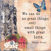 Image of Small Things with Great Love -Black/Cream