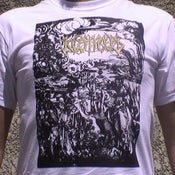 "Image of KOSMOS - ""From Innocence To Perversity"" SHIRT (GOLD LOGO)"