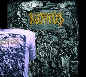 Image of KOSMOS - DIGIPACK (100 handnumbered copies)+SHIRT (GOLD LOGO)