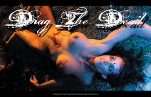 Image of Drag The Dead Railroad Murder Victim Poster