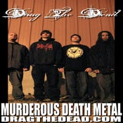 Image of Drag The Dead Murderous Death Metal Poster