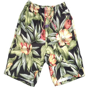 Image of BLACK PALMS JUNGLE SHORTS
