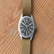 Image of Military-issue Watch by Benrus, 1969.