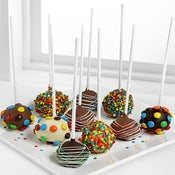 Image of 12 Birthday Cake Pops