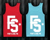 Image of FALLING SKYWARD tank tops