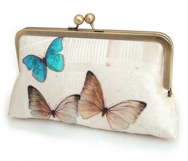 Butterflies clutch bag - Red Ruby Rose
