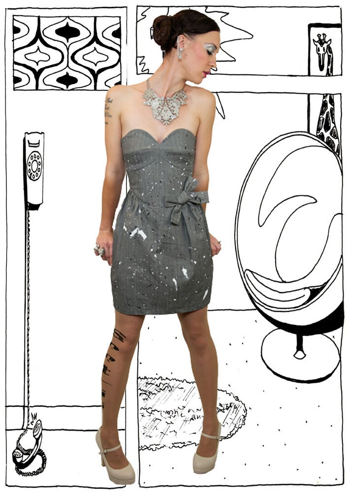Image of 14052 Bardot Dress