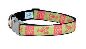 Image of Maine Lady Lobster Dog Collar in the category  on Uncommon Paws.