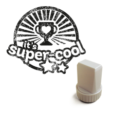 "Image of ""It's super-cool"" - Stamp"