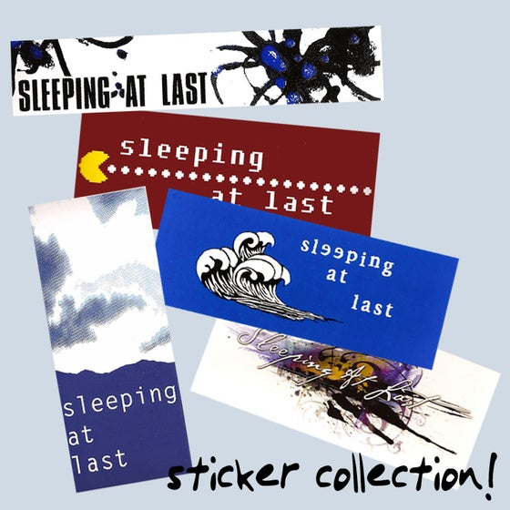Image of Sticker Collection (5 Vinyl Stickers)