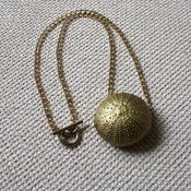 Image of Daybreak - Bright Gold-Coloured Washed Ashore Sea Urchin Necklace