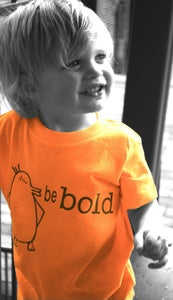 Image of Penguin - be bold t-shirt