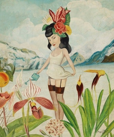 Image of HAY QUE REGAR EL JARDÍN. Limited edition PRINT