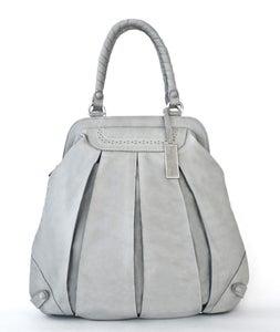 Image of BALLOON ZIP BROGUE  light grey