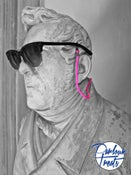 Image of PINK FLUO SUNGLASSES CORD
