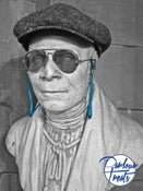 Image of BLUE FLUO SUNGLASSES CORD