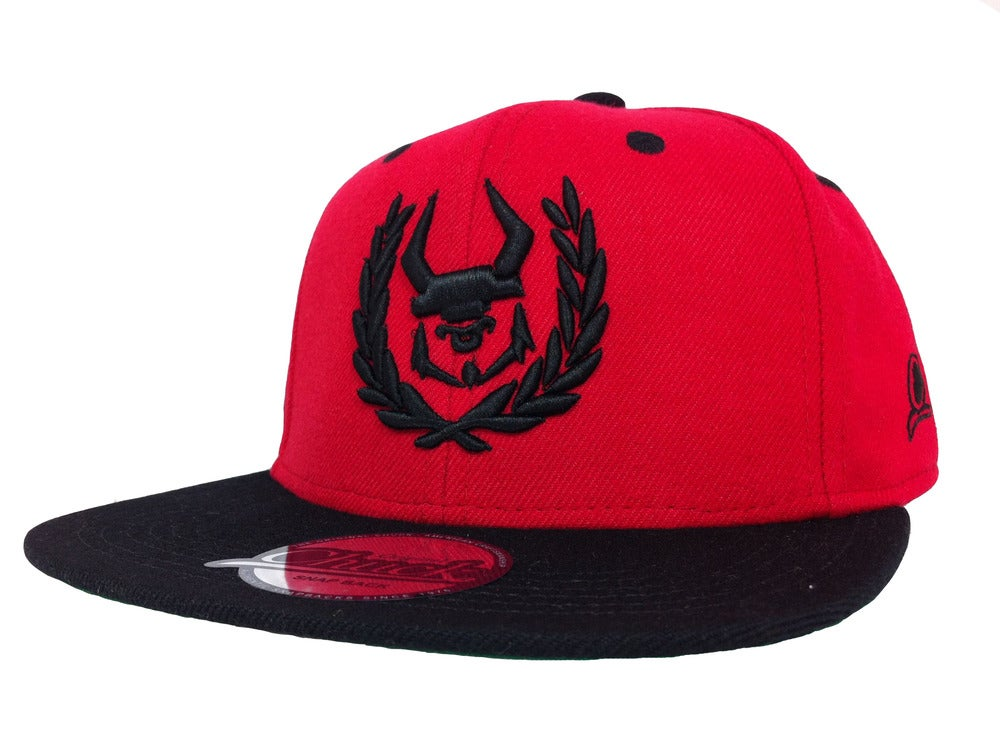 Image of Trademark snapback - Red