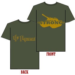 Image of Twice As Strong (T-Shirt)