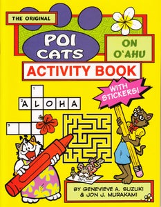 Image of The Original Poi Cats on Oahu Activity Book