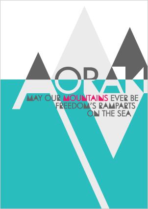 Image of Aoraki Poster