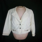 Image of Lane Bryant Cream Blazer Size 14/16
