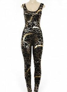 Image of Black / Gold Suit