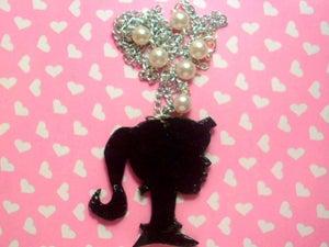 Image of Cute Barbie Sihouette