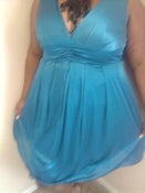 Image of Macys Ruby Rox Teal Tulle Dress 1x