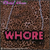 "Image of ""Whore"" Chain"
