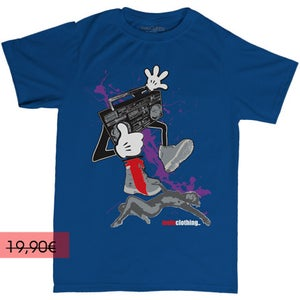 Image of RADIO STAR - Bleu - Homme (T-shirt)