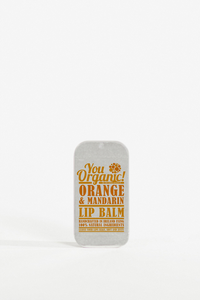Image of YouOrganic Orange & Mandarin Lip Balm | Handmade In Ireland | Natural Skincare