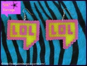 "Image of ""lol"" Earrings"