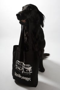 Image of Tote bag, Bully in the key of 666 - black
