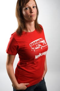 Image of Ecologic t-shirt (red), Hellsongs bully