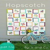 Image of Hopscotch PDF pattern