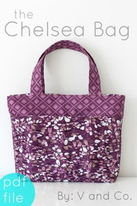 Image of the Chelsea Bag PDF pattern