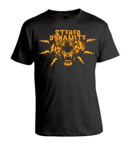 Image of Stereo Dynamite Tiger Logo Mens T-Shirt
