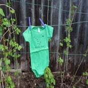 Image of One-piece- Grass- Short Sleeve