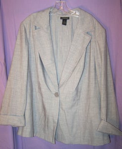 Image of Light Gray Lane Bryant Blazer 20