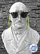 Image of YELLOW FLUO SUNGLASSES CORD