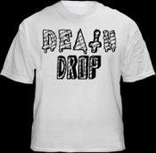 Image of Death Drop White Logo