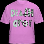 Image of Original Death Drop Pink Shirt